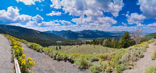 Sawtooth Range, Idaho - Panorama