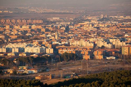 Alcalá desde el cerro del Viso