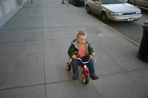 collin on the bike