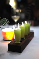 Chef's Amuse: Celery-Apple Juice