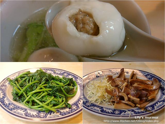 施家先肉湯圓真的很值得一嚐,但小菜就普通,看個人喜好及口味囉。