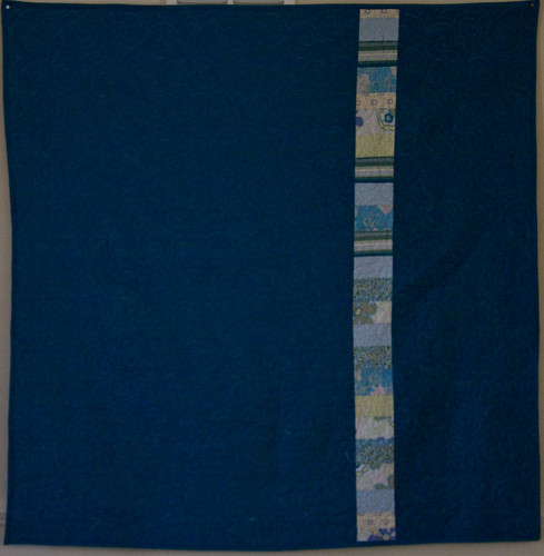 Swimming Pool Quilt - Back