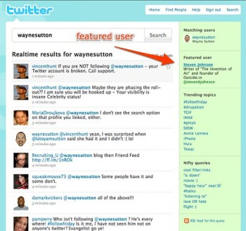 twitter featured user