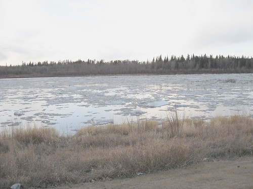 North Saskatchewan River 19 April