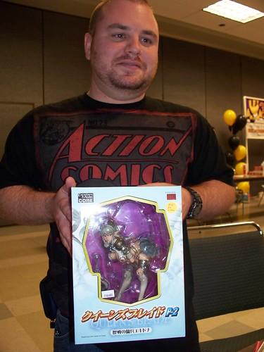 Kenny got a new doll.
