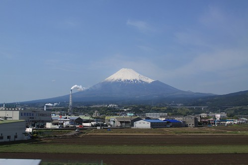 Mount Fuji from the Bullet Train