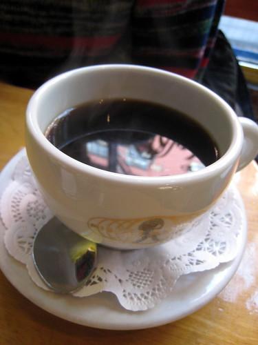 Espresso at Café Henri
