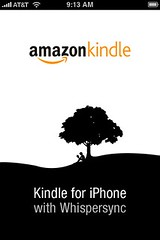 Sweet amazon kindle app for the iPhone
