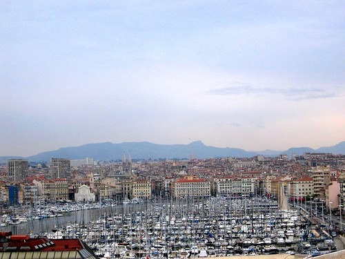 The Vieux Port in Marseille.