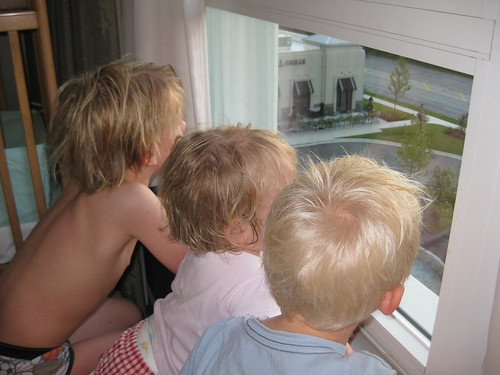 The Kids Looking Out at Rosemount, Illinois