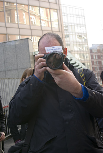 A photographer not a terrorist