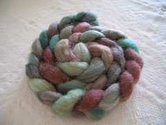 Hand-dyed BFL