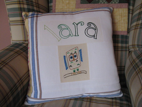 Girls Night Out cushion - side 1 by you.