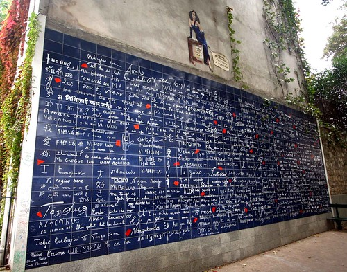 Wall of Love, Paris, France by PlassPhoto.