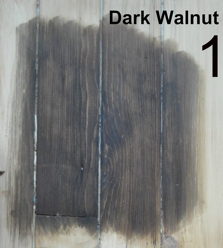 #1: Dark Walnut