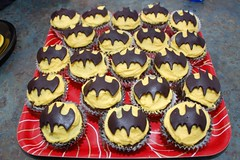 The Batman Cupcakes