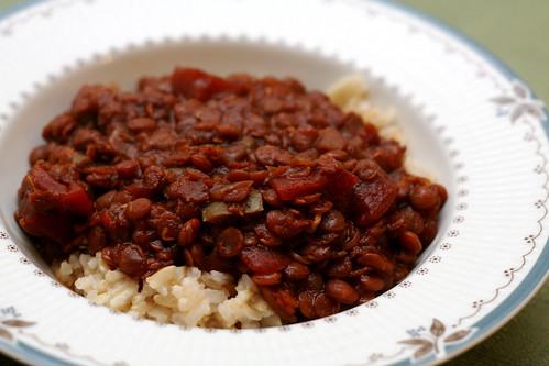 Sweet and Spicy Lentil Chili