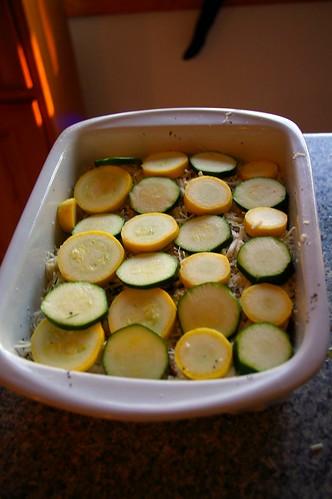 Zucchini Layer