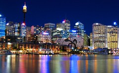 A Darling Harbour view - Sydney by kees straver (to many social obligations)