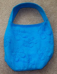Blue Petunia Bag, complete
