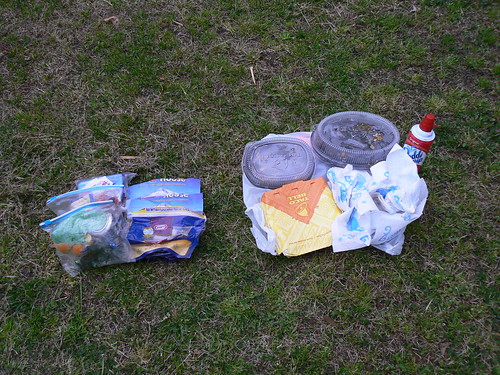 Backpacking - Trash Compare