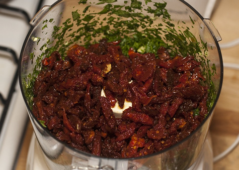 Sundried Tomatoes Added