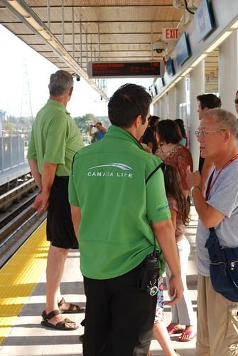 Canada Line staff