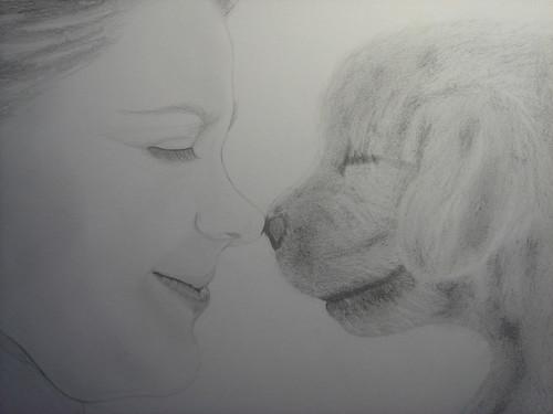 小女孩與小狗1