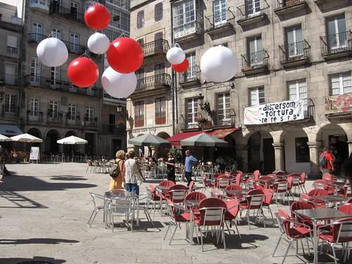 VIGO: Plaza de la Constitución. (GALICIA)