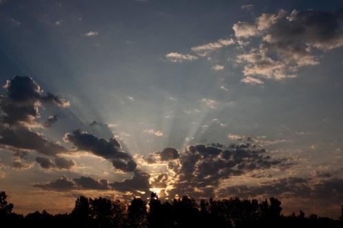 sunrise on a thursday morning