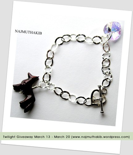 Twilight Bella's Bracelet - March Giveaway by you.
