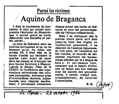 Aquino Bragança by you.