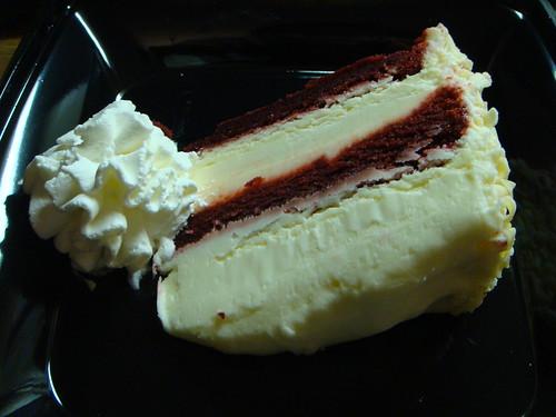 Cheesecake Factory - Red Velvet Cheesecake