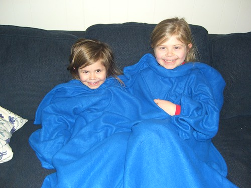 The Snuggie is a Big Hit in My House