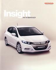 Honda Insight Hybrid 2009 brochure (Netherlands)