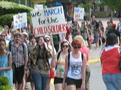 The Rescue march in Atlanta