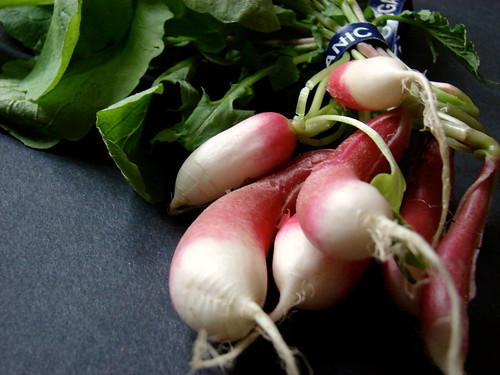 D'Avignon radishes
