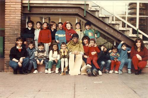 Primers dos cursos d'esplai: Curs 1984-85 i 1985-86