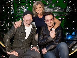 Bono y Edge en el programa Nightline de la ABC