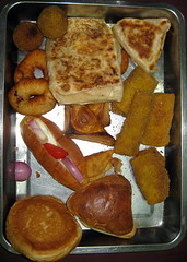 106d - A plate of my favorite snack foods in Sri Lanka
