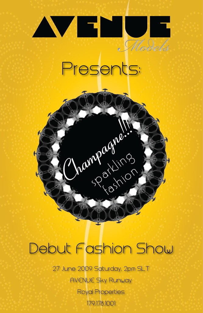Champagne Show Flyer