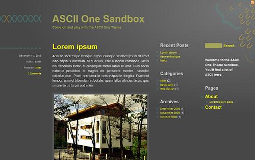 ASCIIone