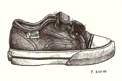 #7: vans shoe side
