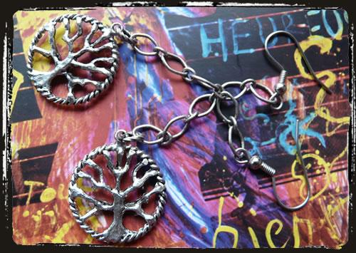Orecchini albero della vita - Life tree earrings IAMECAF