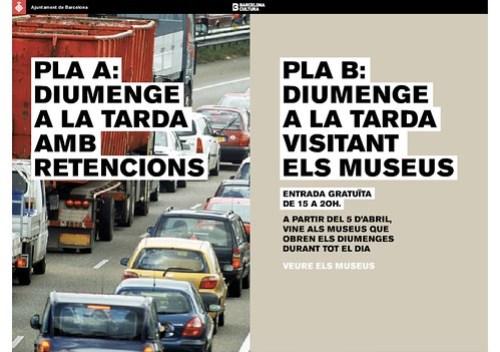 Diumenge a la tarda visitant els museus - Ajuntament de Barcelona