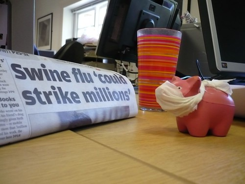 stressed stress pig