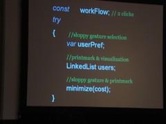 Jun Xiao's presentation at CHI09
