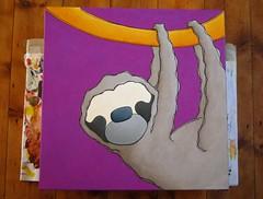 work in progress sloth P 20090623