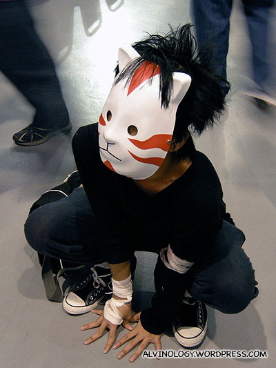 Unknown character who looks like a cross between L in Deathnote and Naruto