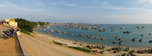 Fishing Harbour, Mui Ne Village